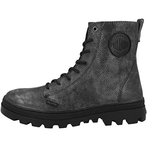 Zapatillas Of Mujer Black silver Palladium 95527 019 W Para Altas Plboss Lea qOx5IB