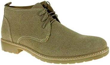 Ferro Aldo Men's 51001 Lace Up Ankle High Chukka Boots