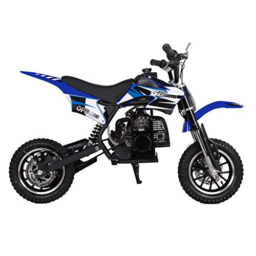 Amazon.com: V-Fire - Mini moto de cross de 2 tiempos de 49 ...