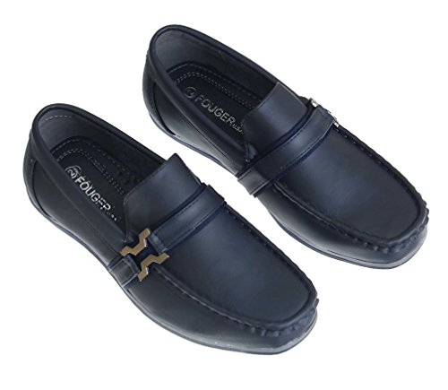 Young Loafer Dress 8 Slip Mens On Style Blue Fouger Navy Shoe fIqH8Y