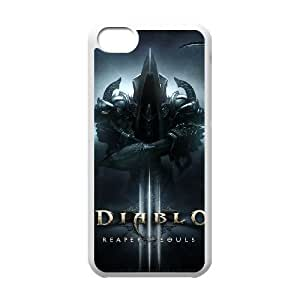 games Diablo 3 Reaper Of Souls iPhone 5c Cell Phone Case White Gift xxy_9933623