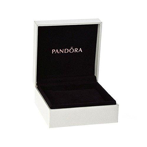 PANDORA 590723CZ Sterling Silver Signature Clasp Bracelet