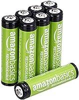 Amazon Basics - Baterías precargadas Ni-MH, Recargables, 1000 ciclos