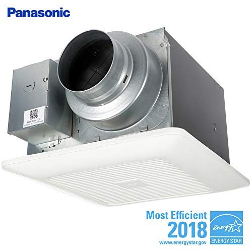 (Panasonic FV-0511VK2 WhisperGreen Multi-Flow Bathroom Fan, White)