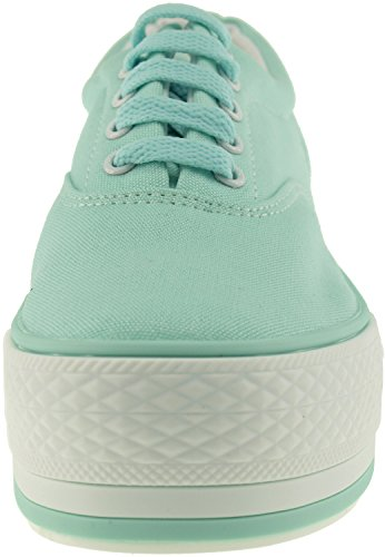 Maxstar  C40-5H,  Damen Sneaker Low-Tops Mintgrün