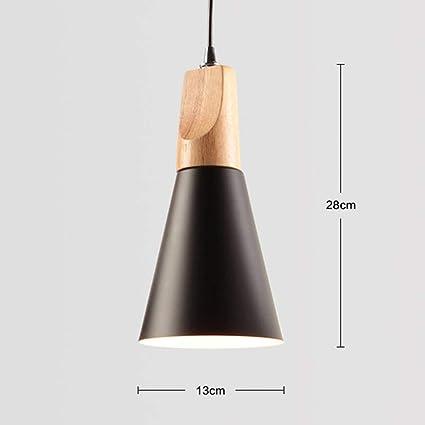 Lámparas de Techo Suspendidas Lámparas de Techo Nordic Wood ...