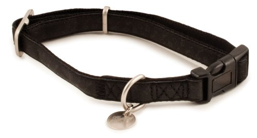 PetSafe Bark Avenue Quick Snap Dog Collar,  Large, 1-Inch, Black