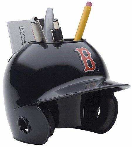 Schutt MLB Boston Red Sox Authentic Mini Batting Helmet Desk Caddy