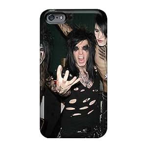 Shockproof Hard Phone Covers For Iphone 6 With Unique Design Vivid Black Veil Brides Band BVB Image JonBradica