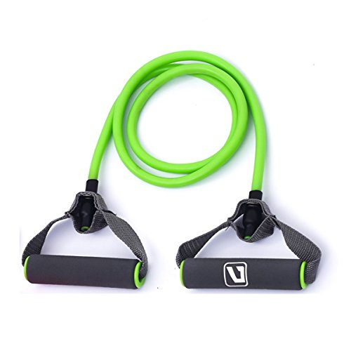 Liveup SPORTS Toning Tube Resistance Bands/Cord Pulley TPR F