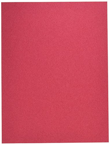 Pacon Groundwood Construction Paper, 9in. x 12in., Red
