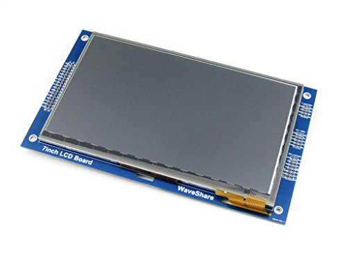 Waveshare 7'' inch 800*480 Capacitive Touch LCD (C) Multicolor TFT Display Module LED Backlight
