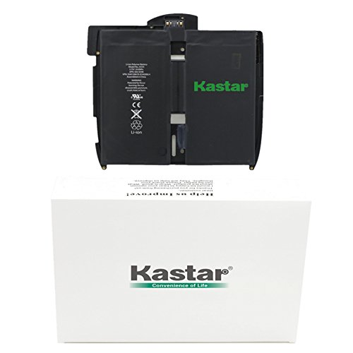 Kastar Battery for Apple iPad 1 (1st Generation iPad) Replacement Internal Battery 3.75v 24.8WHr Fixes for iPad 1