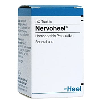 Nervoheel 50 Tablets Stress Reliever & Anxiety Reliever By Bulgarian Products
