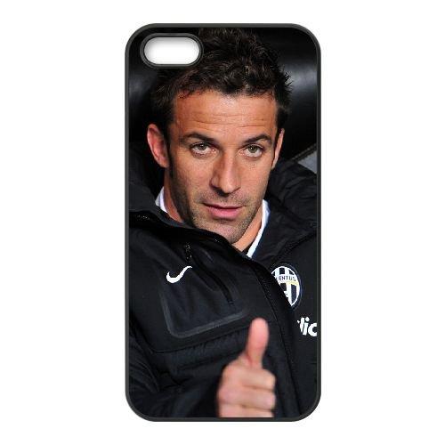Alessandro Del Piero 005 coque iPhone 5 5S cellulaire cas coque de téléphone cas téléphone cellulaire noir couvercle EOKXLLNCD21469