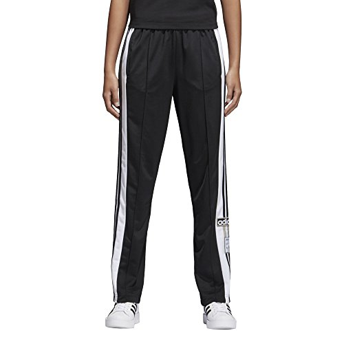 adidas Women's Adibreak Trackpant, Black/Carbon, M (Track Pants With Buttons On The Side)