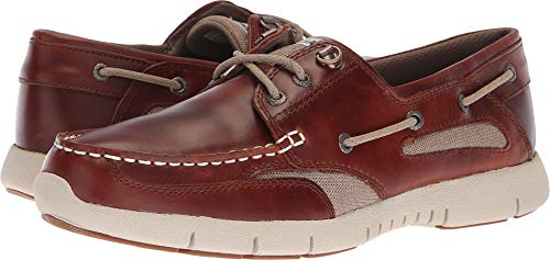 (Sebago Mens Clovehitch Lite Brown/Cinnamon 9 M)