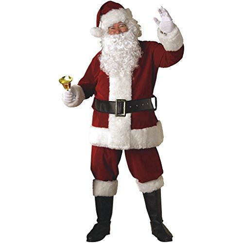 CHSGJY Santa Suit Deluxe Adult Christmas Costume for Men Fancy Dress XX-Large by CHSGJY