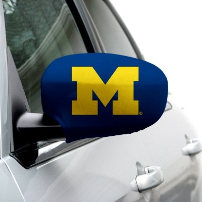 NCAA Michigan Wolverines Side Styles Mirror Covers - (Michigan Mirror)