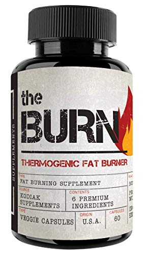 The Burn - Thermogenic Fat Burner - Weight Loss Supplement - Preserve Muscle, Boost Energy, Improve Focus, Suppress Appetite - New Formula - 60 Natural Veggie Diet Pills
