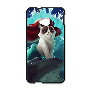 Personal Customization Red hair cat mermaid Cell Phone Case for HTC One M7