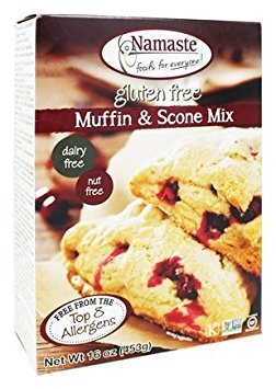 Namaste Foods - Gluten Free Muffin & Scone Mix - 16 oz.(pack of 2) - Gluten Free Scone