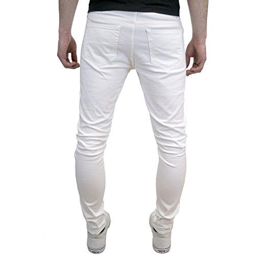 Jeans Enzo Molto White Uomo Per Aderenti 1TdqTw