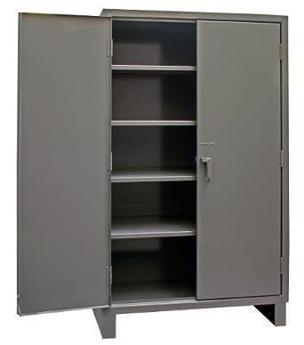 Durham 14 Gauge Welded Steel Heavy Duty Recessed Door Style Lockable