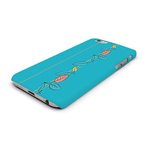Koveru Back Cover Case for Apple iPhone 6 - Skyblue Florals