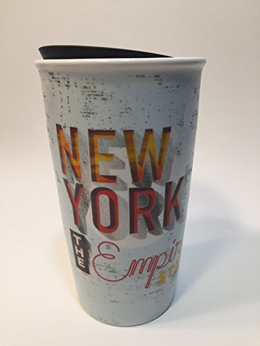 Starbucks New York Limited Edition Ceramic Travel Tumbler