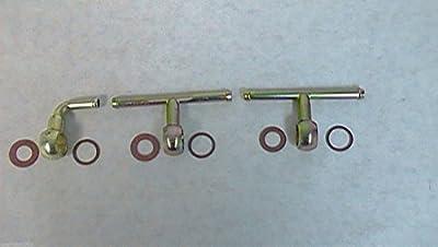 Weber Dcoe Fuel Inlet Set Triple Dcoe Weber Fuel Triple Webers 10536.037