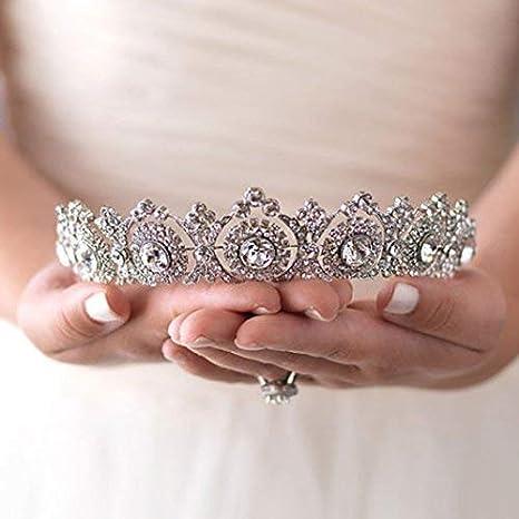 Unique Bride. Modernist Headpiece 1950s Wedding Headpiece Vintage Bridal Tiara Mother of Pearl Tiara Crystal Tiara