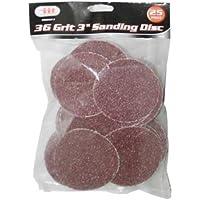 """IIT 82077 36 Grit 3"""" Sanding Discs, 50 Pack"""