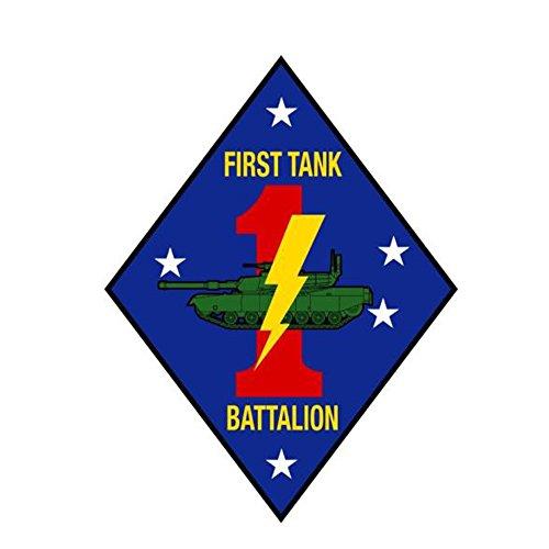 (US Marine Corps 1st First Tank Battalion USMC 4