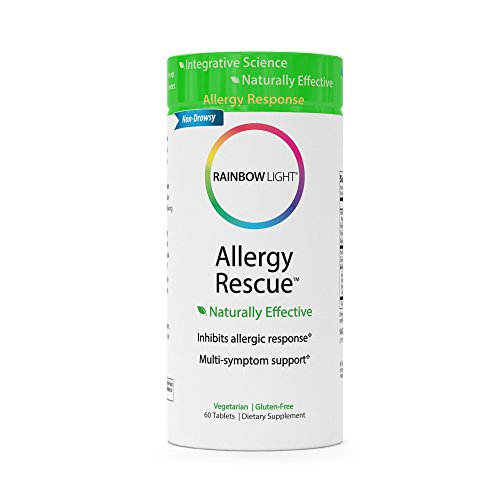 Rainbow Light Allergy Rescue Food-Based Dietary Supplement Tablets, 60 Count Bottle by Rainbow Light