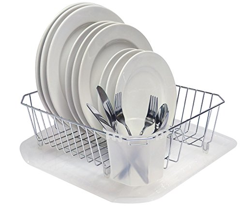 Sinkware Set - REAL HOME Innovations 4-Piece Chrome Sinkware Set