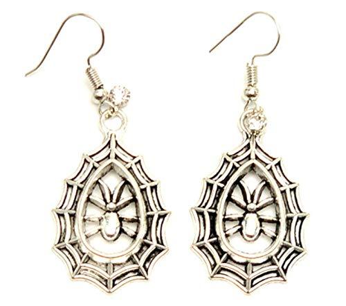 Fashion Halloween SpiderWeb Dangle Fish Hook Earrings For Women / -