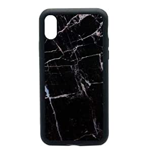 IPhone X Cover Marble Black