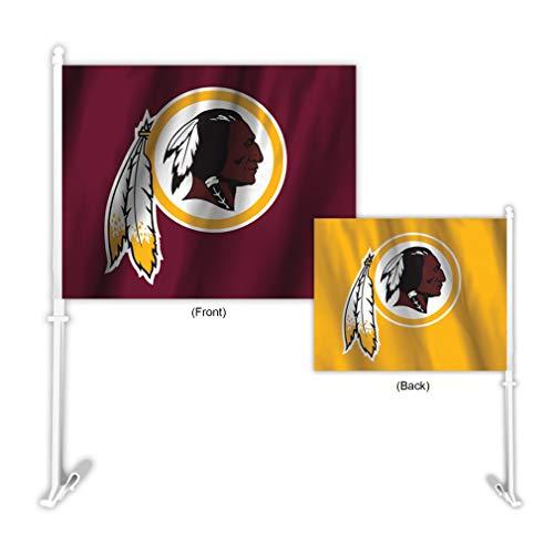 Washington Redskins Nfl Car - Fremont Die NFL Washington Redskins Home & Away Car Flag