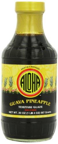 Aloha Glaze, Guava Pineapple, 20 Ounce