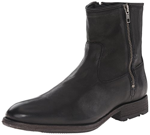 Frye Mens Ethan Double Zip Boot Nero