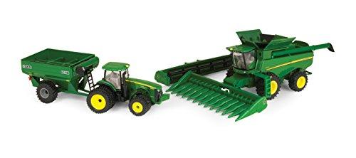 Ertl Collectibles John Deere Harvesting Set -