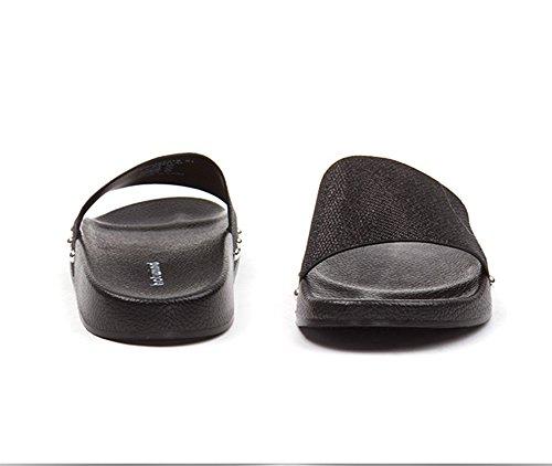 Happy Lily da donna slip on pantofole antiscivolo Slide sandali Mule estate scarpe da esterni