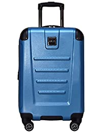 """Kenneth Cole Reaction Get Away 20"""" Wide Body Carry On Luggage Spinner (Ocean Blue)"""