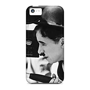 Defender Case For Iphone 5c, Charles Chaplin Celebrities Pattern