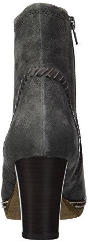 39 Botas para Mujer Gabor Comfort Shoes grey Micro Dark Gris Sport 6xPFB