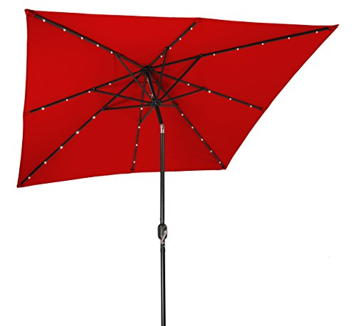Trademark Innovations LED Patio Umbrella