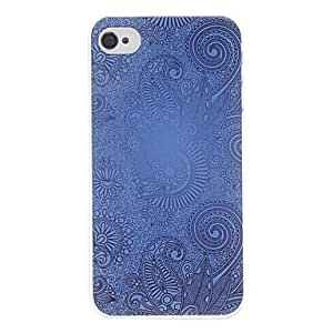 TOPMM Court Pattern Hard Case for iPhone 4/4S