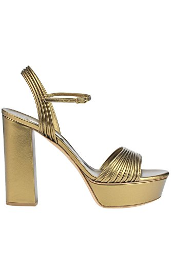 Casadei Femme MCGLCAT03037E Bronze Cuir Sandales