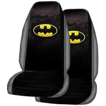 Amazon.com: A Set of 2 Universal Fit Batman Seat Covers: Automotive
